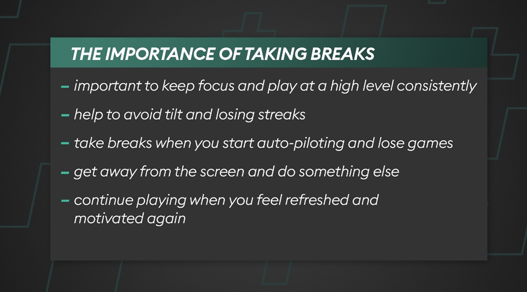 Why is it important to take a break from FIFA 22?